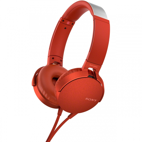 Audífonos MDR-XB550AP Rojo