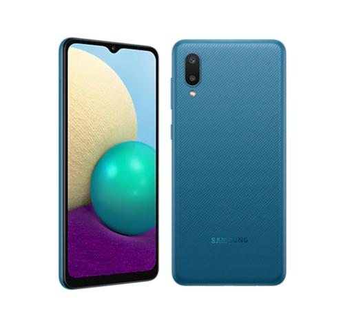 Teléfono Galaxy A02 Azul