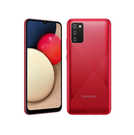 Teléfono Galaxy A02S Rojo