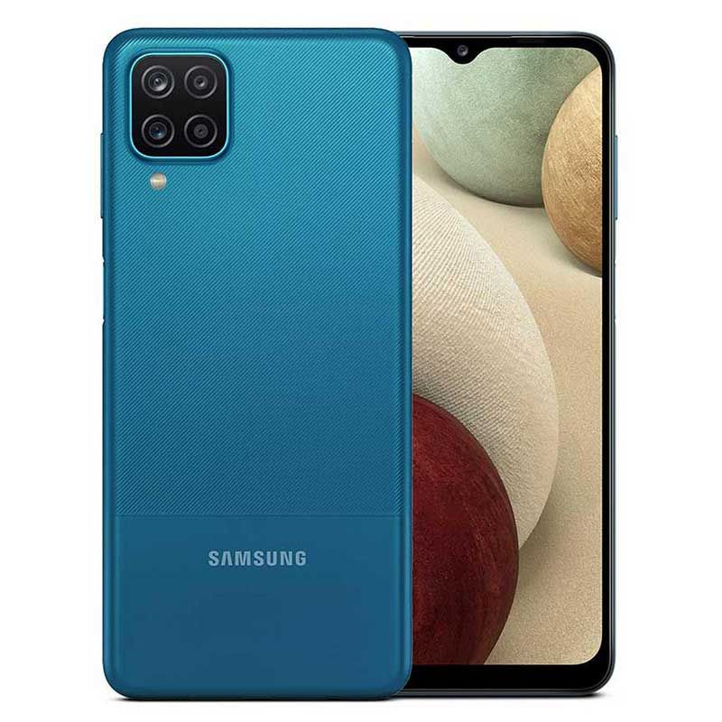 Teléfono Galaxy A12 Azul