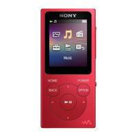 Walkman MP3 NW-E393 ROJO