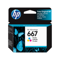 Tinta HP 667   Color