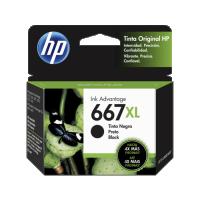 Tinta HP 667 XL   Negro
